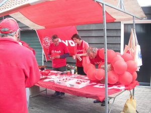 PvdA 2013 Kapelse dag Cees, Hans, Annebeth